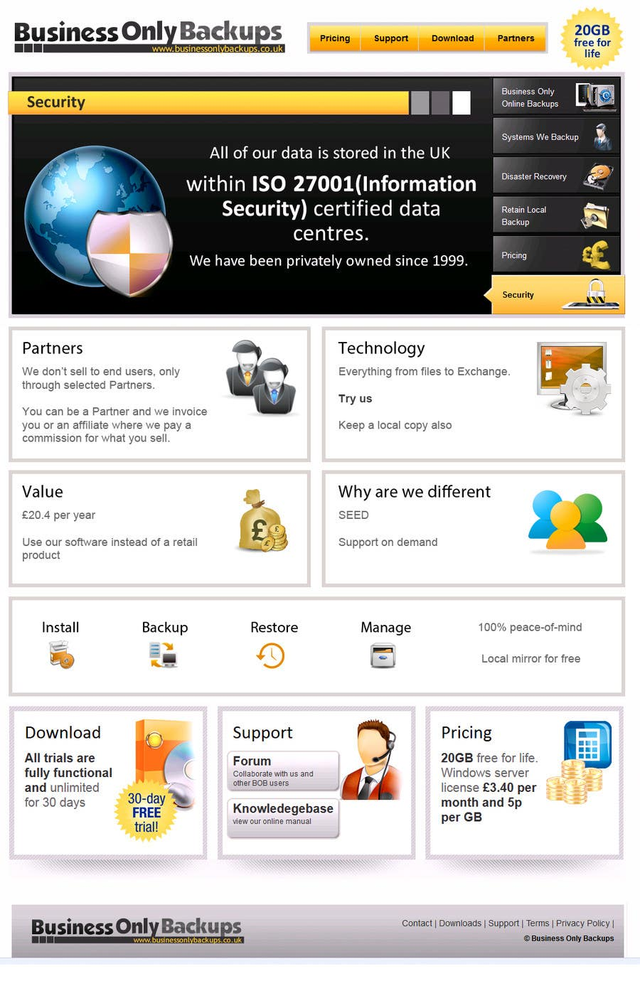 #5 for Homepage revamp and build (single page) by seguro