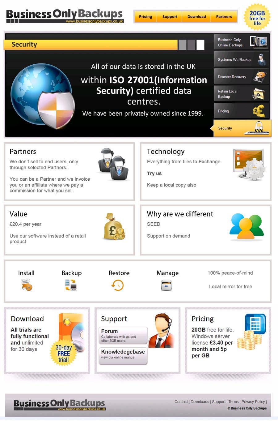 Bài tham dự cuộc thi #                                        5                                      cho                                         Homepage revamp and build (single page)