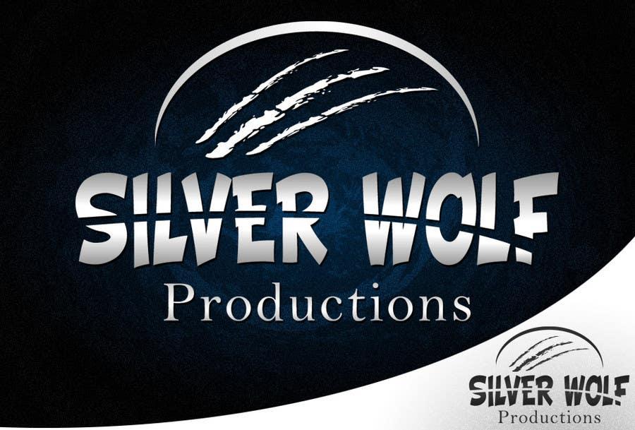 Penyertaan Peraduan #383 untuk Logo Design for Silver Wolf Productions