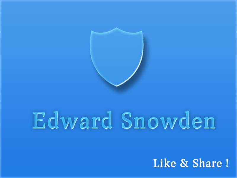 #1 for Ideas for high visibility of Edward Snowden solidarity pages by AGeorgescu