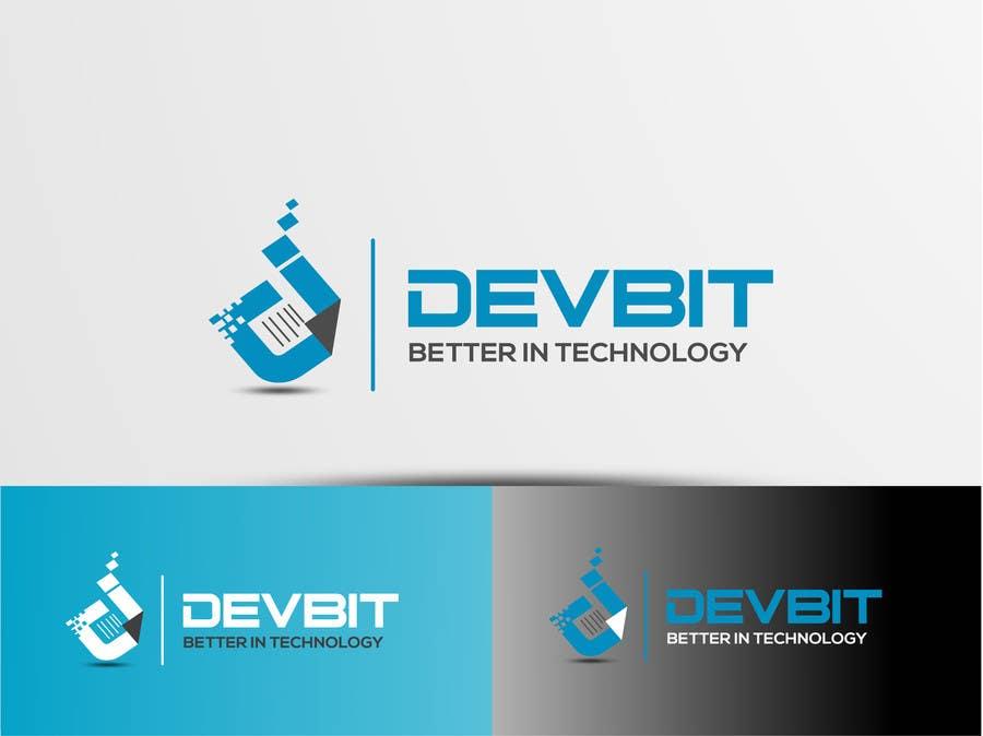 #68 for Design a logo for devBIT by texture605