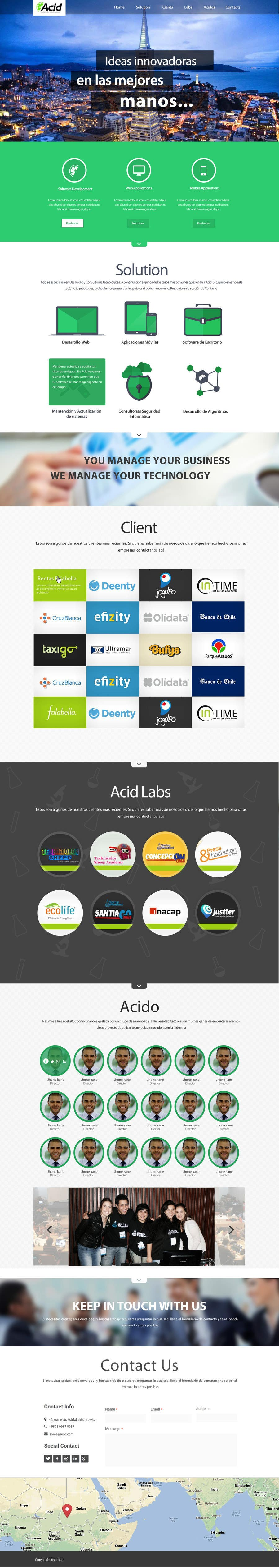 #31 for Develop a Corporate Identity for Acid Labs by SadunKodagoda