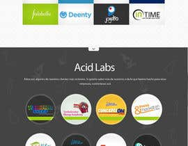nº 49 pour Develop a Corporate Identity for Acid Labs par SadunKodagoda