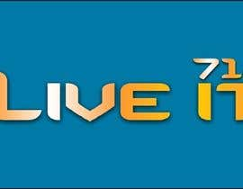 nº 441 pour LIVE IT 712 logo design par moro2707