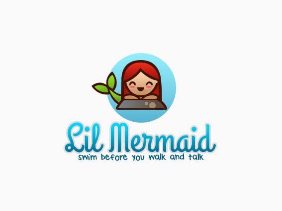 Kilpailutyö #59 kilpailussa Design a Logo for lil mermaid