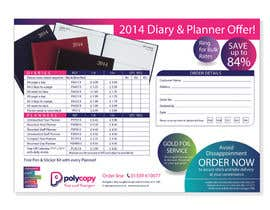 #21 for 2014 Diary flyer by Yammyboy
