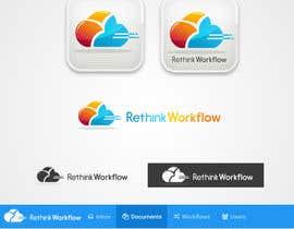 Nro 3 kilpailuun Develop a logo and banners for RethinkWorkflow käyttäjältä gfxalex12