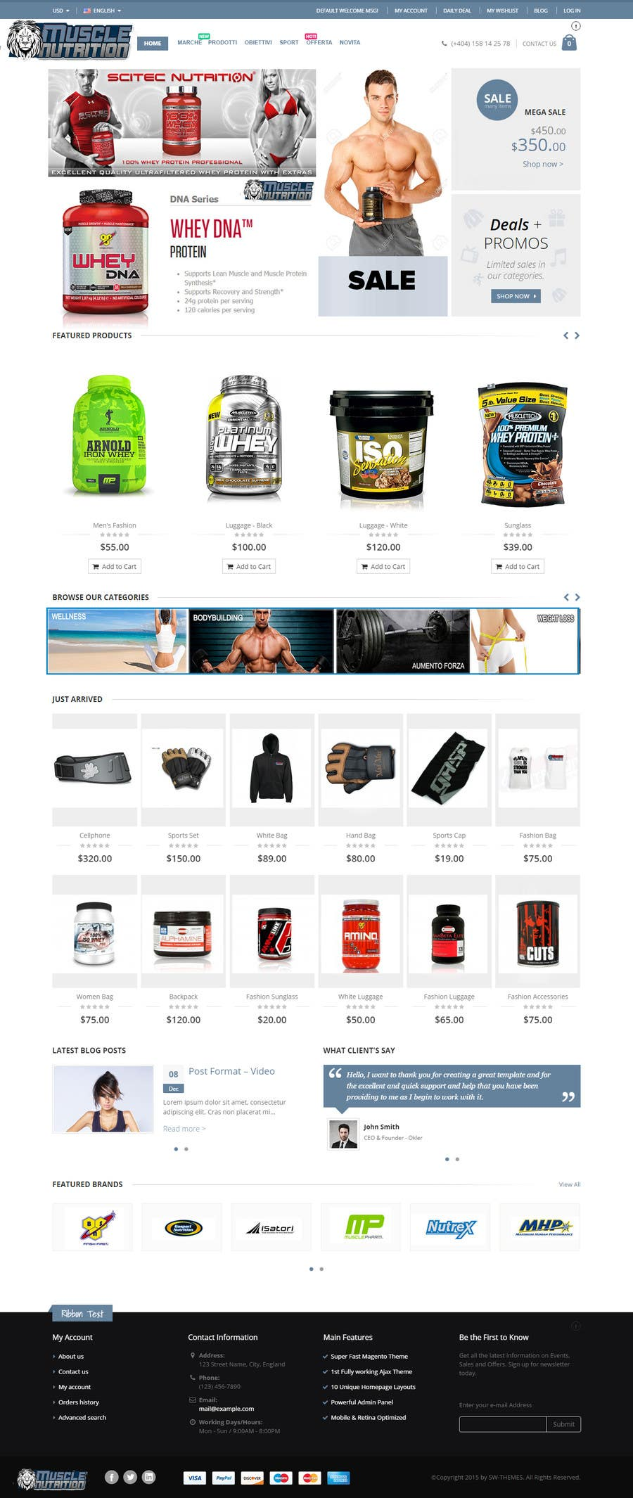 Contest Entry 17 For Convert A Magento Template To The Old Look Website