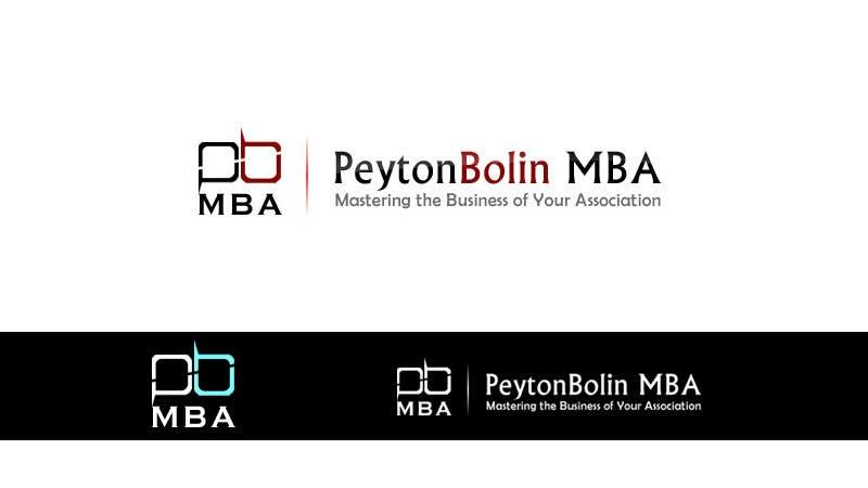 Proposition n°93 du concours PB MBA Logo