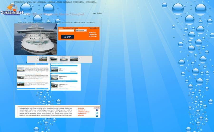 Конкурсная заявка №                                        6                                      для                                         Redesign Homepage