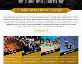 #14 untuk Design a Website Mockup (Homepage) for a Vegas Concierge Site oleh atularora