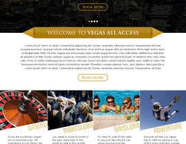 #24 untuk Design a Website Mockup (Homepage) for a Vegas Concierge Site oleh atularora