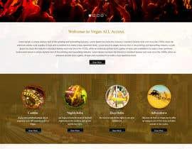#15 untuk Design a Website Mockup (Homepage) for a Vegas Concierge Site oleh tamamanoj