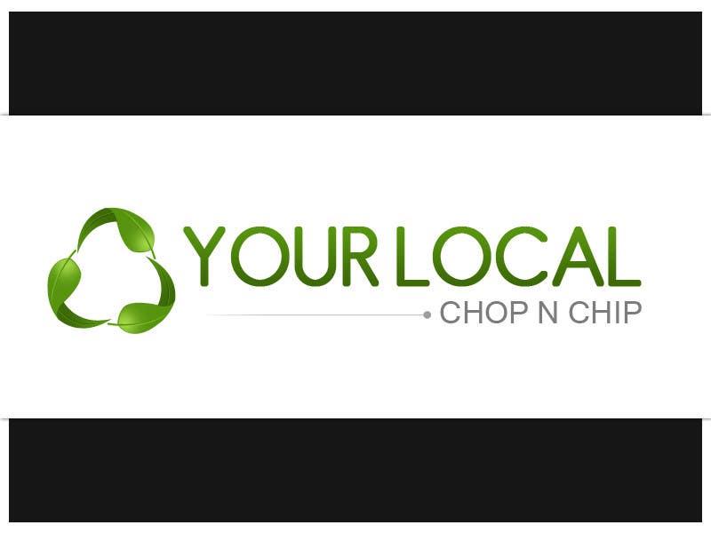 Конкурсная заявка №35 для Logo Design for YOUR LOCAL CHOP N CHIP