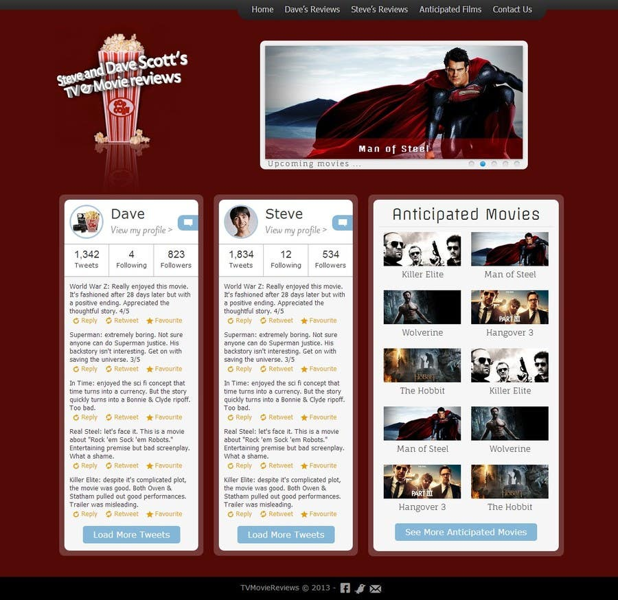 #12 for Build a Wordpress Website for Movie Reviews by thumperca