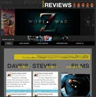 Bài tham dự #53 về Graphic Design cho cuộc thi Build a Wordpress Website for Movie Reviews