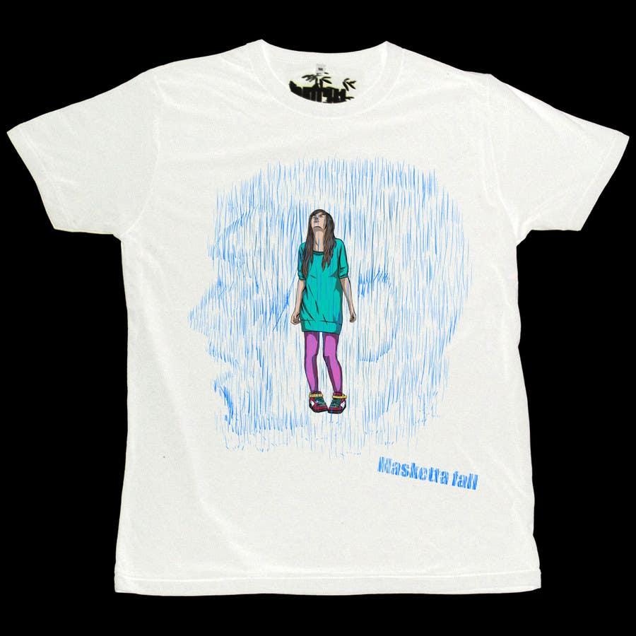 Kilpailutyö #77 kilpailussa T-shirt Design for Masketta Fall