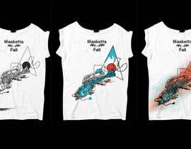 #59 para T-shirt Design for Masketta Fall por BlingDeNeige