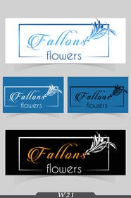 #31 for Design a logo for Fallon's Flowers of Raleigh. by w21
