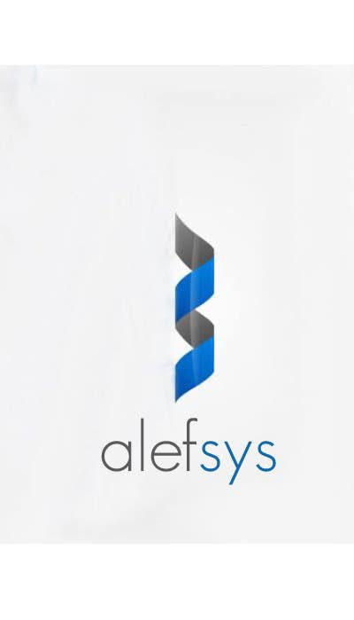 #127 for Design a Logo for Alefsys by Aliloalg