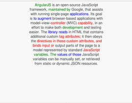#5 untuk Build a single page web application using Angular JS oleh shubham166