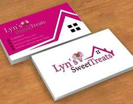 #109 untuk Business Card & Facebook Banner for Lyn's Sweet Treats oleh mamem