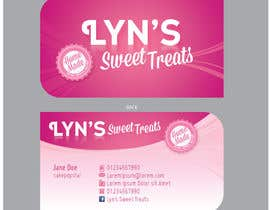 nº 113 pour Business Card & Facebook Banner for Lyn's Sweet Treats par hennytaher
