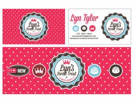 #132 para Business Card & Facebook Banner for Lyn's Sweet Treats por Introvertarian