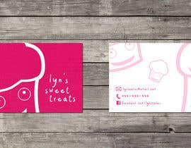 #122 para Business Card & Facebook Banner for Lyn's Sweet Treats por maisieeverett