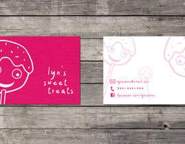 #124 untuk Business Card & Facebook Banner for Lyn's Sweet Treats oleh maisieeverett