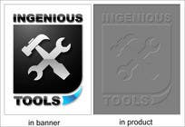 Graphic DesignLogo Design for Ingenious Toolsのコンテストエントリ#169