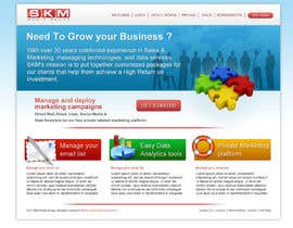 #39 for Website Design for www.skmmediagroup.com af dragnoir