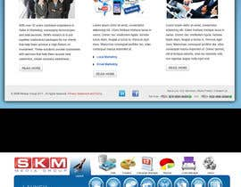 #23 for Website Design for www.skmmediagroup.com by Takanna