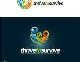 nº 29 pour Design a Logo for Thrive to Survive par sbelogd