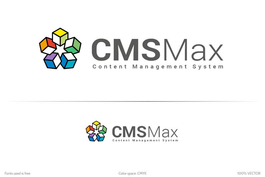 #324 for Design a Logo for CMS Max by krustyo