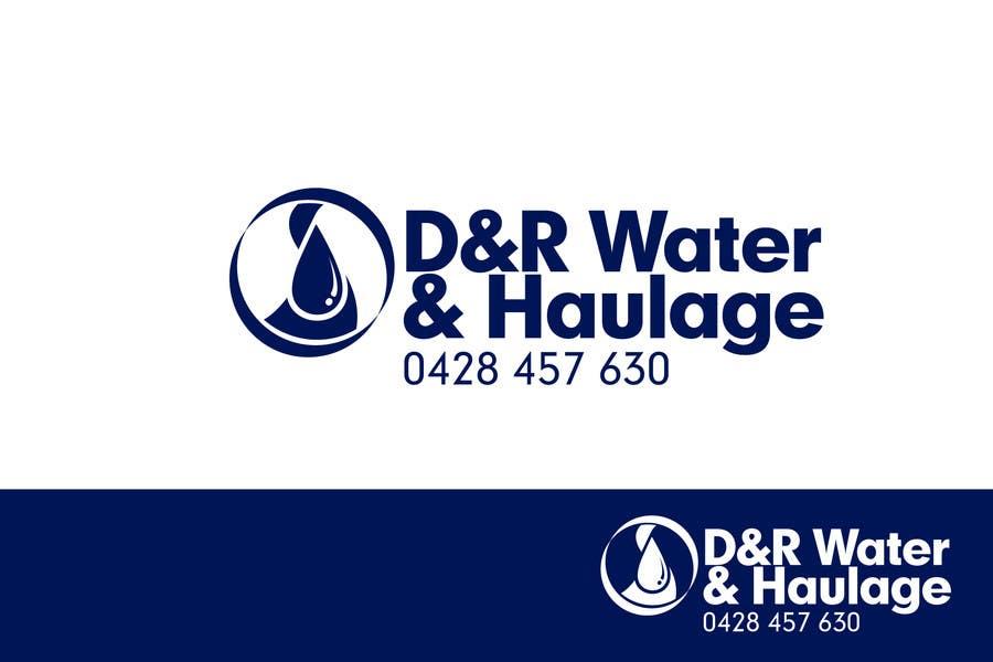 Proposition n°102 du concours D & R Water & Haulage