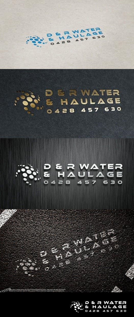 Proposition n°78 du concours D & R Water & Haulage