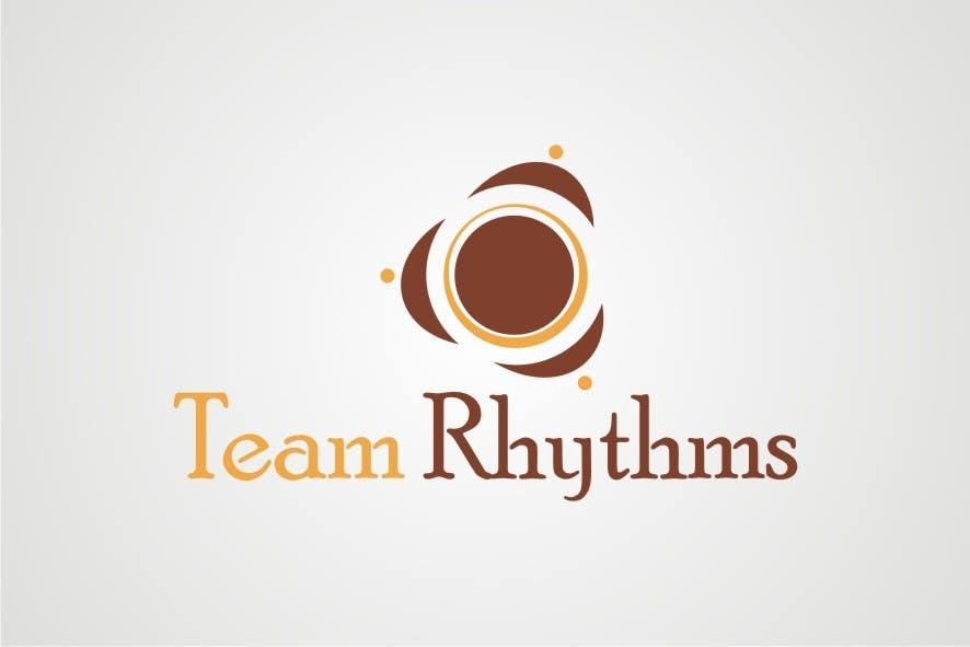 Inscrição nº 112 do Concurso para Logo Design for Team Rhythms
