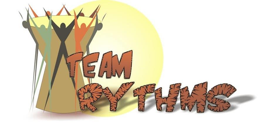 Inscrição nº 94 do Concurso para Logo Design for Team Rhythms