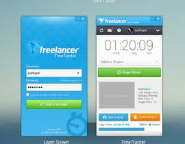 #70 para New Design for the Freelancer.com TimeTracker App por JustLogoz