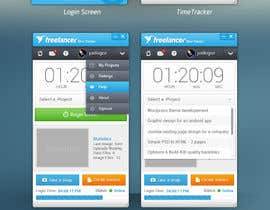 #71 for New Design for the Freelancer.com TimeTracker App by JustLogoz