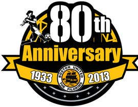 #41 para Design a Logo for Boston United Football Club's 80th Anniversary por jhoannemvillabla