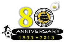 Bài tham dự #25 về Graphic Design cho cuộc thi Design a Logo for Boston United Football Club's 80th Anniversary