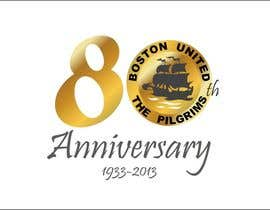 #55 para Design a Logo for Boston United Football Club's 80th Anniversary por kasif20