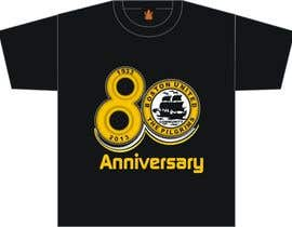 nº 39 pour Design a Logo for Boston United Football Club's 80th Anniversary par A1Designz