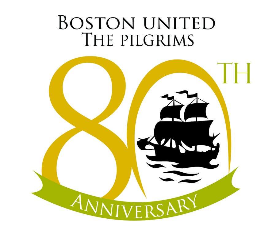 Bài tham dự cuộc thi #                                        30                                      cho                                         Design a Logo for Boston United Football Club's 80th Anniversary