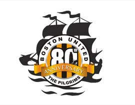 #47 para Design a Logo for Boston United Football Club's 80th Anniversary por ariekenola
