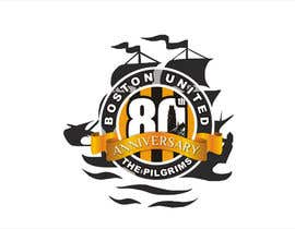 #48 para Design a Logo for Boston United Football Club's 80th Anniversary por ariekenola