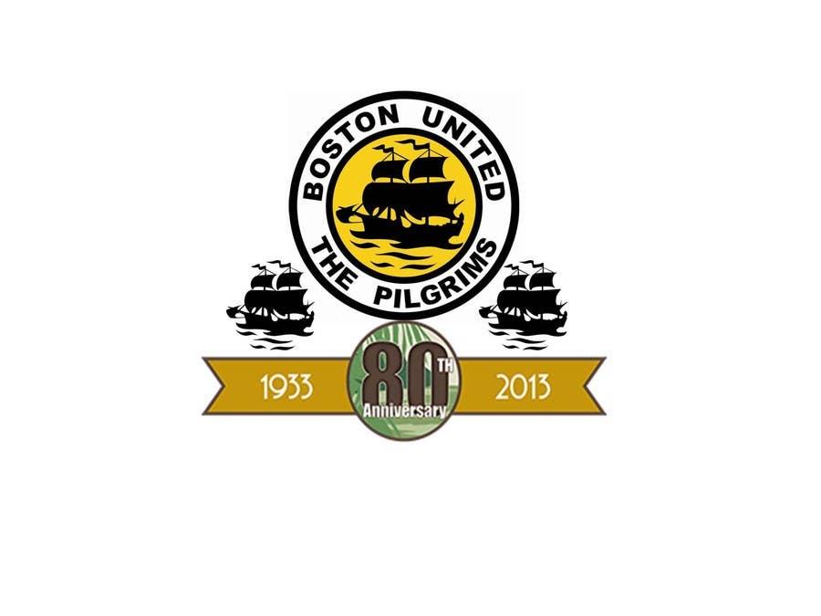 Bài tham dự cuộc thi #                                        45                                      cho                                         Design a Logo for Boston United Football Club's 80th Anniversary