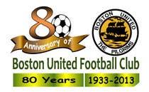 Bài tham dự #22 về Graphic Design cho cuộc thi Design a Logo for Boston United Football Club's 80th Anniversary